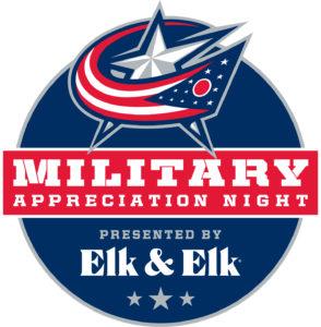 Columbus Blue Jackets Military Appreciation Night