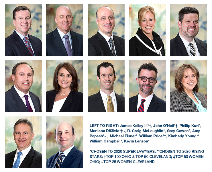 2020 Ohio Super Lawyers and Rising Stars List