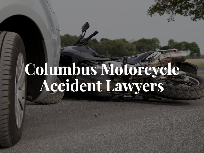 columbus motorcycle accident lawyers