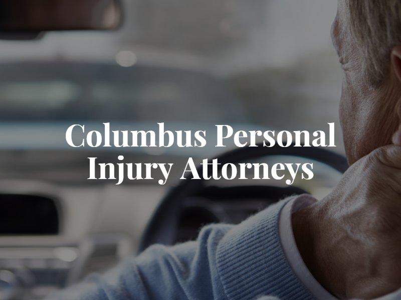 Columbus Personal Injury Lawyers