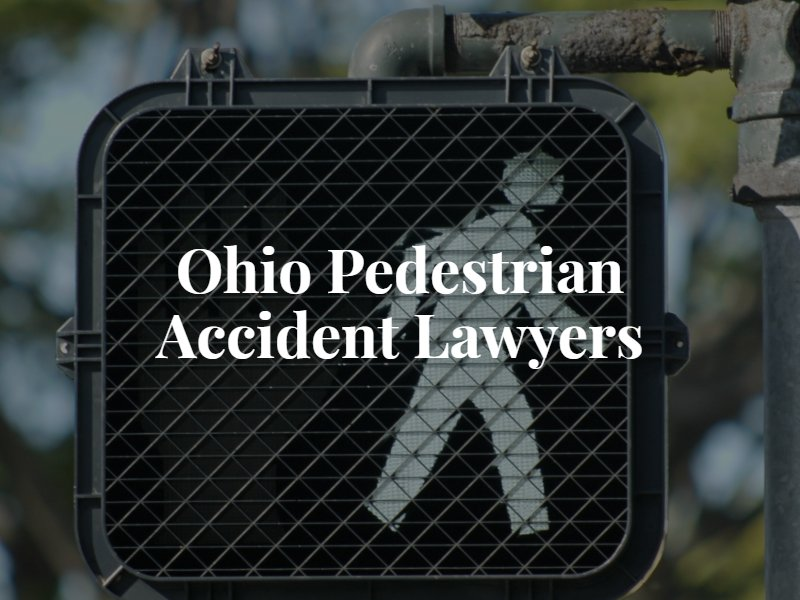 Ohio pedestrian accident lawyers