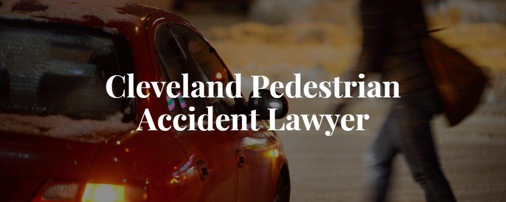 Cleveland pedestrian accident lawyer
