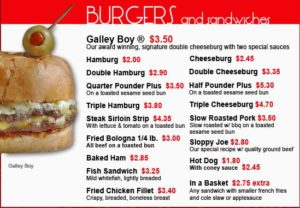 National Burger Month - Swenson's