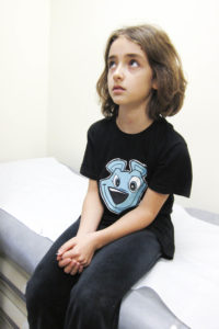 Child Waits for Health Care