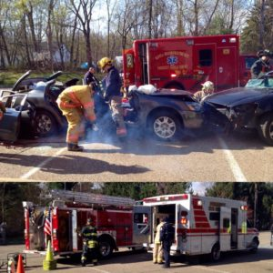 None 4 Under 21 Mock Crash Scene